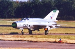 Mikoyan Gurevich MiG-21